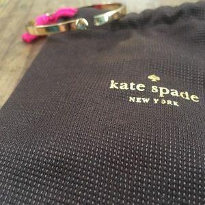 Kate Spade Golden hinged bracelet NWOT